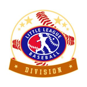 Baseball Little League Division Pin