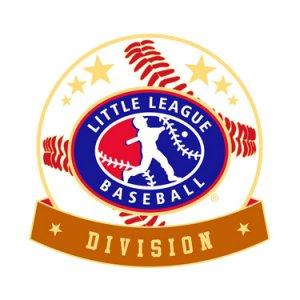 Baseball Little League Division Pin