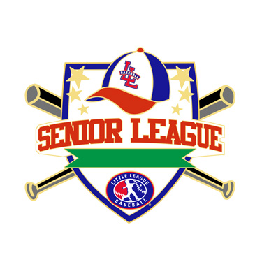 Baseball Senior League All Purpose Pin