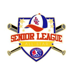 Baseball Senior League All-Star Pin