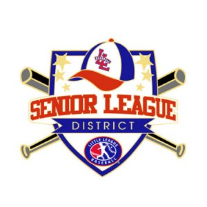 Baseball Senior League District Pin