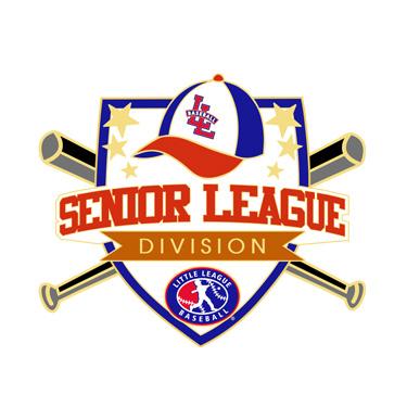 Baseball Senior League Division Pin