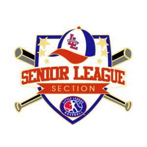 Baseball Senior League Section Pin