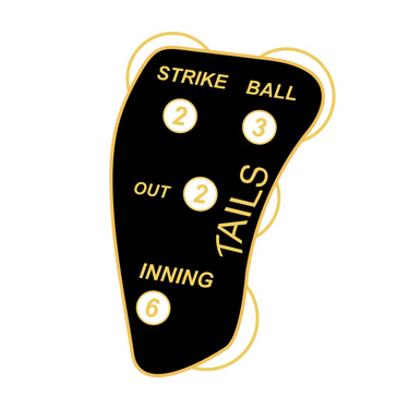 Little League Umpire Flip Coin Tails