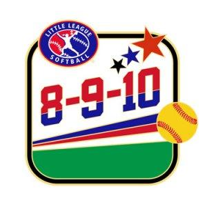Softball 8-9-10 All-Purpose Pin