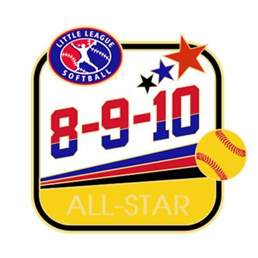 Softball 8-9-10 All-Star Pin