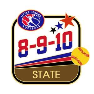 Softball 8-9-10 State Pin
