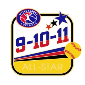 Softball 9-10-11 All-Star Pin