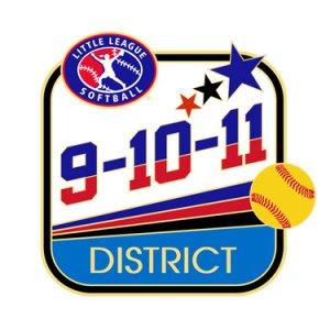 Softball 9-10-11 District Pin