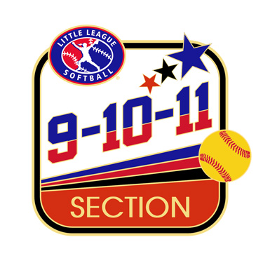 Softball 9-10-11 Section Pin