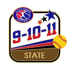 Softball 9-10-11 State Pin