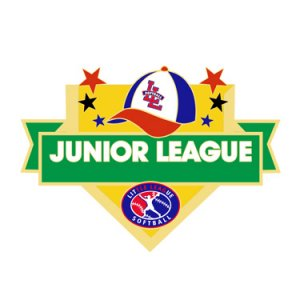 Softball Junior League All Purpose Pin