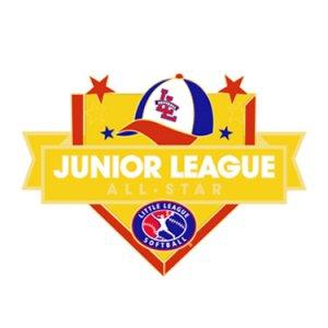 Softball Junior League All-Star Pin
