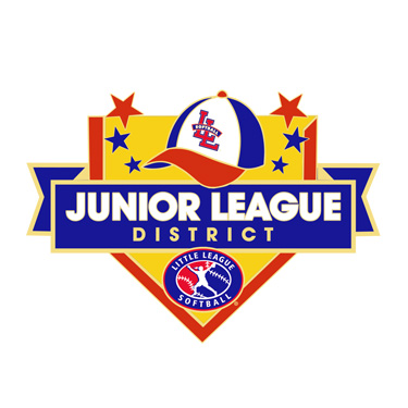 Softball Junior League District Pin