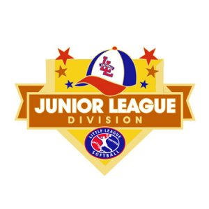 Softball Junior League Division Pin
