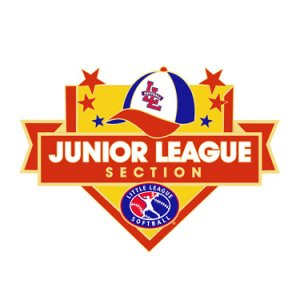Softball Junior League Section Pin