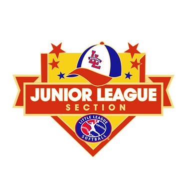 Softball Junior League Section Pin