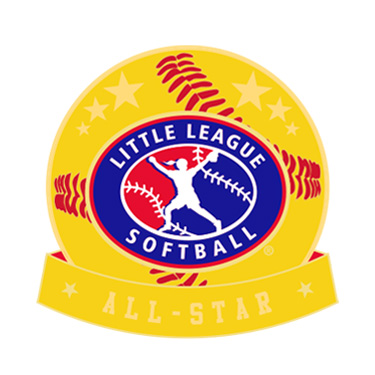 Softball Little League All-Star Pin