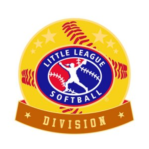 Softball Little League Division Pin