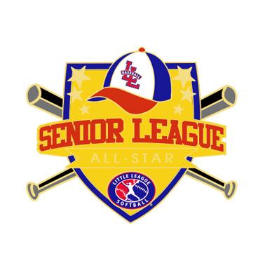 Softball Senior League All-Star Pin