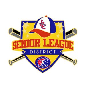 Softball Senior League District Pin