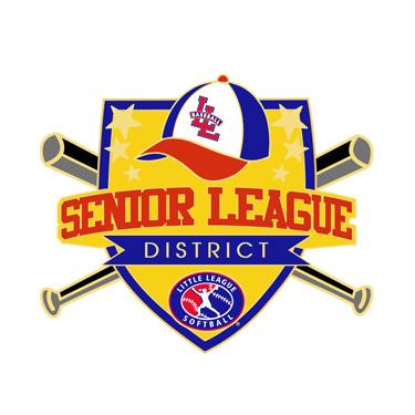 Softball Senior League District Pin