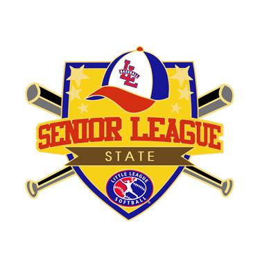 Softball Senior League State Pin