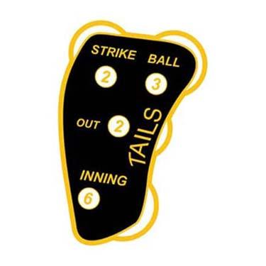 Indicator Umpire Softball Tails